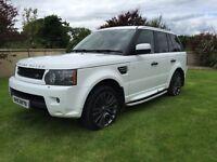 2010 Range Rover sport face lift model.