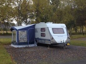 Walker Rally Fibre Porch Awning in blue