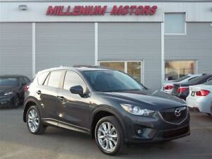 2015 Mazda CX-5 GT AWD / NAVI / B.CAM / LEATHER / SUNROOF