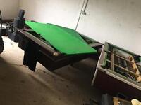 Special offer 1 week only £250 for Both or £150 for one Pool table both 7:4