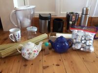 House Clearance - 15 Piece Kitchen Bundle for Sale - Brita Water Filter, Bottle Cooler & lots more