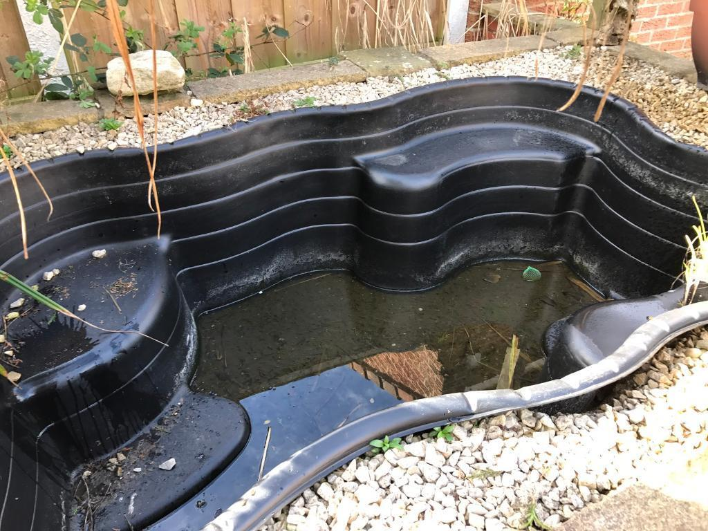 Pond preformed liner in york north yorkshire gumtree Large preformed ponds