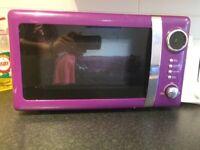 New Purple Microwave