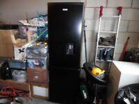 Fridgemaster Fridge freezer,Black less than a year old