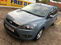 2008 FORD FOCUS 1.8 TDCI DIESEL BLUE 2 OWNERS LONG MOT HPI CLEAR