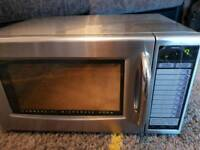 Sharp 1000w microwave oven commercial catering restaurant cafe use