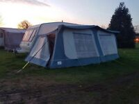 Full size caravan awning 925 cms.