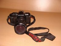 Pentax P30n SLR Film Camera with 28-80mm lens