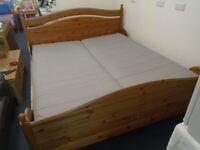 SUPER-KING (6') WOODEN BED at Haven Trust's charity shop at 247 Radford Road, NG7 5GU