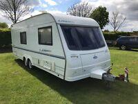 Coachman Laser 2000 590/4 Twin axle Caravan