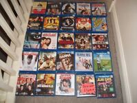 BLU-RAYS £1 EAC NO OFFERS