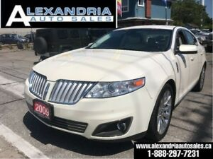 2009 Lincoln MKS NAVi/LEATHER/142km/safety included