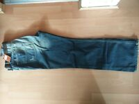 """4xNEW NEXT jeans tags £24.99 each blue distressed 38"""" 38L ripped original denim loose straight"""