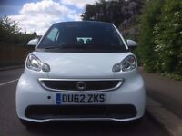 62 REG SMART FORTWO PASSION 1.0 AUTO MHD 84 BHP PANROOF SATNAV 20K FSH HPI CLEAR PX WELCOME