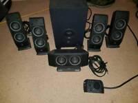 Logitech 5.1 speakers pc