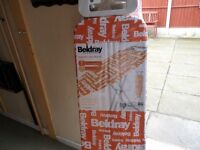 BELDRAY NEW/PACKAGED IRONING TABLE, 7 HEIGHT POSITIONS, BARGAIN £8 CAN DELIVER