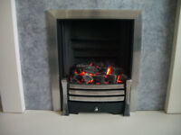 """Gas Fire MAGIGLO ELITE 16"""" Thermobox inset model."""
