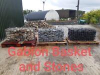 Gabion Baskets and stone