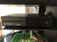 Xbox one 9 games/1controller/headset