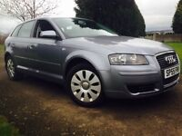 RELIABLE!2006!55 AUDI A3 SPECIAL EDITION 5 DOOR 1 YEAR MOT DRIVES GREAT