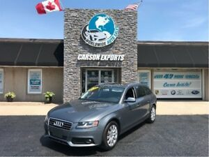 2012 Audi A4 WITH PANO ROOF! FINANCING AVAILABLE. CALL OR EMAIL