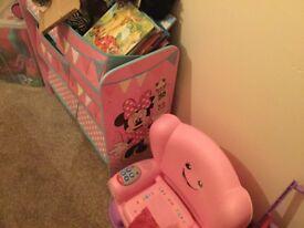 Minnie Mouse storage unit