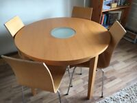 Table X4 chairs for sale