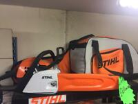 Brand new Stihl chainsaw