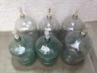 Glass carboys $25 each