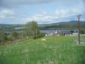 Building Plot near Ardgay, Bonar Bridge in beautiful Sutherland in the Highlands of Scotland.