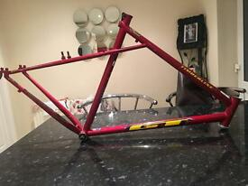 GT timberline retro mountain bike frame