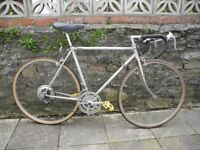 Road Bike. vintage, retro