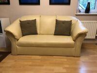 Leather Sofa's x2