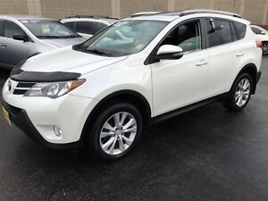 2013 Toyota RAV4 Limited, Automatic, Sunroof, Back Up Camera, AW