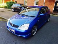 2003 HONDA CIVIC 1.6 SPORT EP2 - 90K FSH HPI CLEAR ALLOYS LEATHER TYPE R REPLICA EP1 EP3