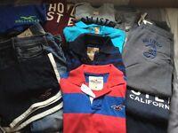 Hollister Mens's / Boy's Clothing Bundle, excellent condition