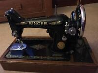 Vintage 1940/50s SINGER sewing machine (99k)