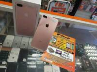 iphone 7 plus rose gold boxed