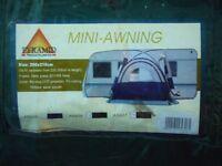 Caravan / campervan awning