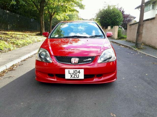 2004 Honda Civic Type R Ep3 K20a2 Milano Red 20 Petrol Ac Model
