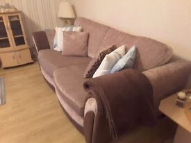 Extremely comfortable and in excellent condition, coordinating 3 & 2 seater sofas for sale