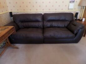 Leather sofa by G-Plan 4-seater