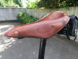 Brooks Flyer SPECIAL Sprung Touring Leather Bike Saddle (RRP £120)