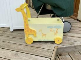 Child's Pull-a-long Box