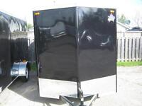 ENCLOSED UTILITY TRAILER 6 x 14 WITH RAMP - STK # 1450