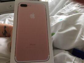 Apple iPhone 7 plus for sale rose gold