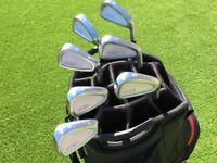 Vega VC01 Shallow Cavity Premium Japanese Forged Irons (4-PW) Excellent Condition Right Handed