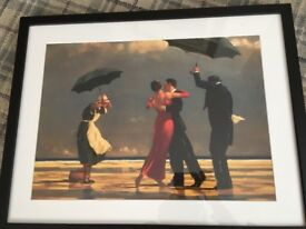 Jack Vettriano 'The Singing Butler' framed print