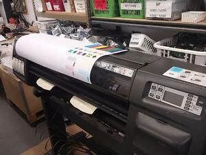 "HP Designjet 1055cm plus 36"" Large Format Inkjet Printer Plotter with Stand"