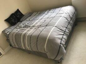 King Size Bed- L200cm W152 cm